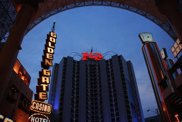 Photograph - Down Town Las Vegas by Susanne Van Hulst