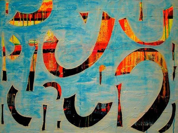 Painting - Downpours Series 1 by Teodoro De La Santa