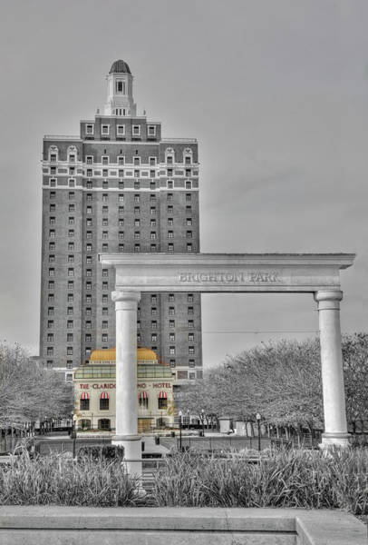 Photograph - Downtown Atlantic City From The Beach by Matthew Bamberg