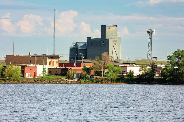 Grain Elevator Photograph - Downtown Baker by Todd Klassy