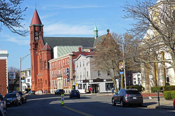 Photograph - Downtown Beverly Cabot Street Beverly Ma by Toby McGuire