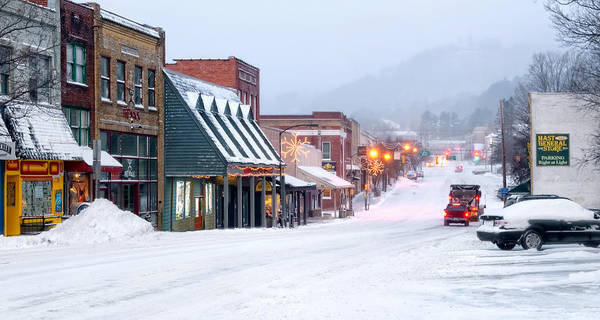 Appalachian Photograph - Downtown Boone by Tommy White