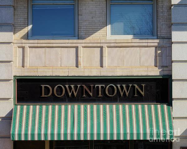 Photograph - Downtown C by Patrick M Lynch