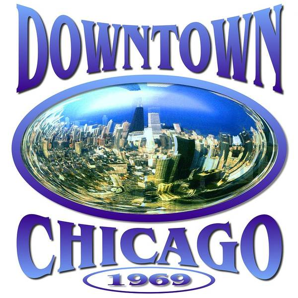Tapestry - Textile - Downtown Chicago Design by Peter Potter