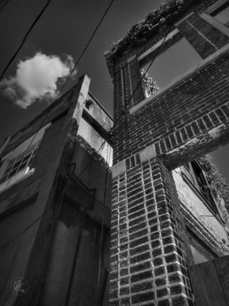Photograph - Downtown Clarksdale 003 Bw by Lance Vaughn