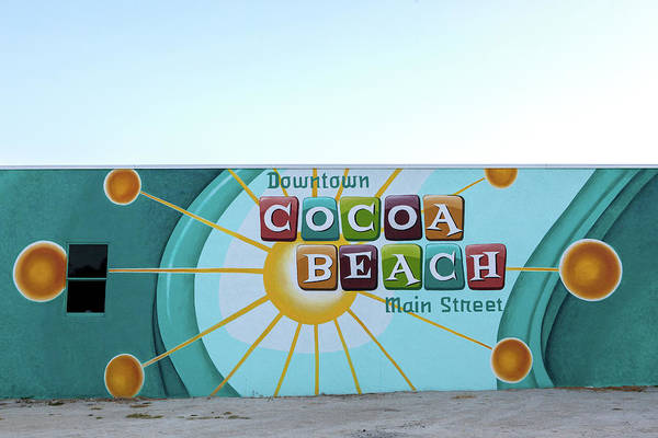 Wall Art - Photograph - Downtown Cocoa Beach by Art Block Collections