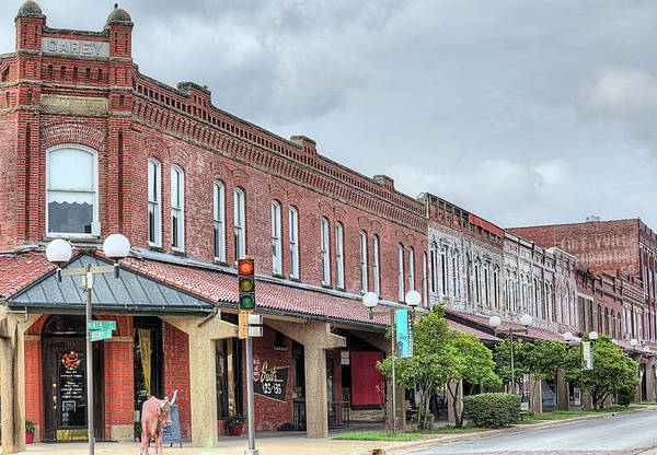 Wall Art - Photograph - Downtown Coffeyville  by JC Findley