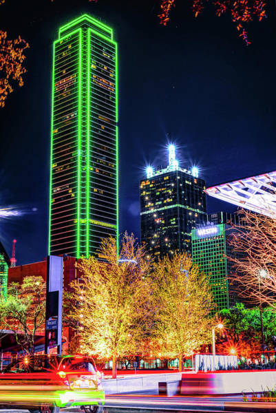 Photograph - Downtown Dallas Skyline Towers by Gregory Ballos