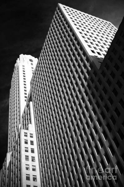 Photograph - Downtown Dimensions by John Rizzuto