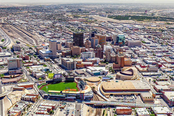 Downtown El Paso Art Print