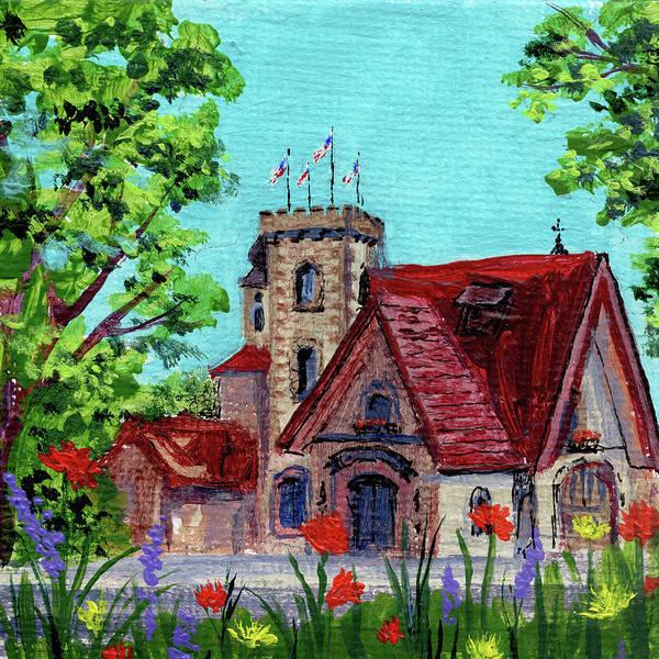 Painting - Downtown Frankenmuth Michigan Impressionistic Landscape Xxii by Irina Sztukowski