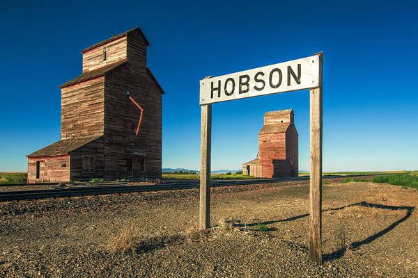 Photograph - Downtown Hobson, Montana by Todd Klassy