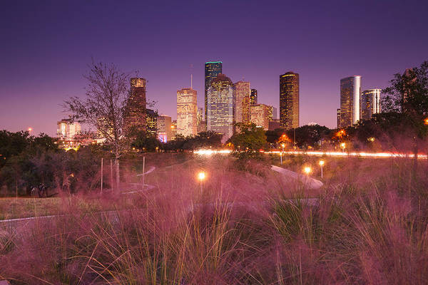 Wall Art - Photograph - Downtown Houston Skyline In Twilight by Ellie Teramoto