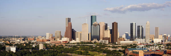 Wall Art - Photograph - Downtown Houston Skyline by Jeremy Woodhouse