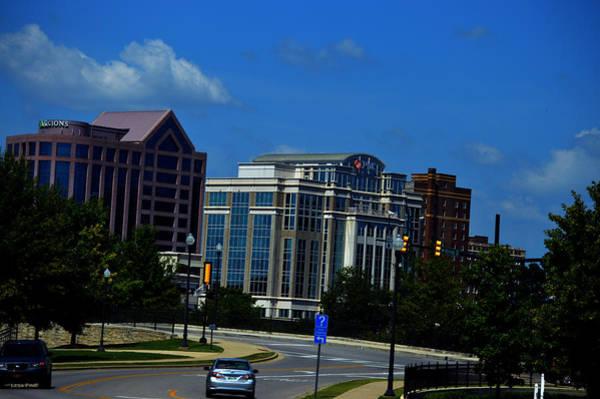 Photograph - Downtown Huntsville Alabama Skyline  by Lesa Fine