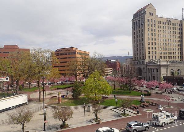 Photograph - Downtown In Springtime by Christina Verdgeline