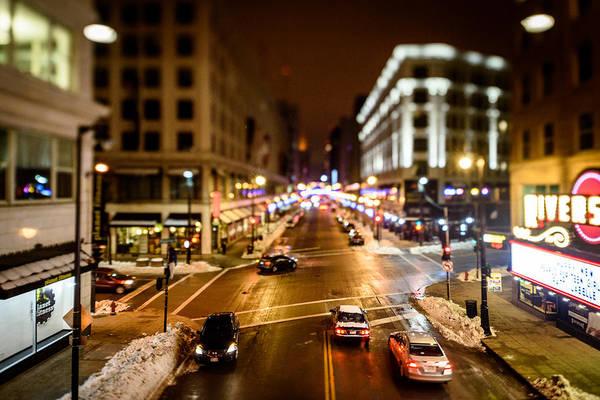 Photograph - Downtown In The Itty-bitty City by Randy Scherkenbach