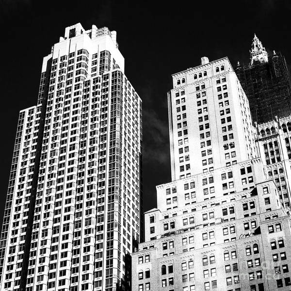 Photograph - Downtown Layers by John Rizzuto