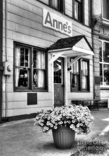 Photograph - Downtown Metamora Indiana Bw by Mel Steinhauer