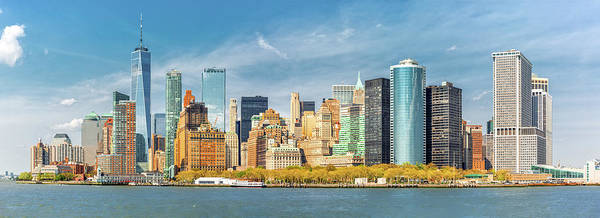 Photograph - Downtown New York Skyline by Mihai Andritoiu