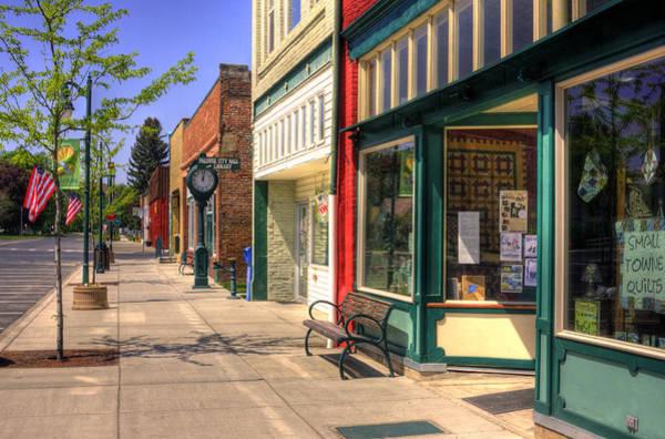 Downtown Palouse Washington Art Print