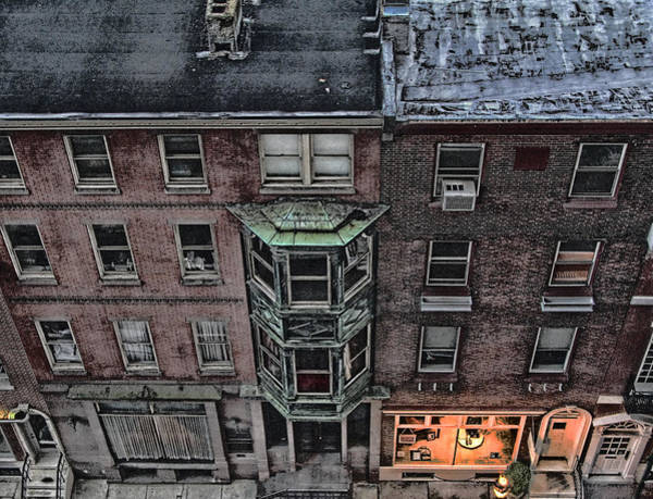 Downtown Philadelphia Building Art Print by Anthony Rapp