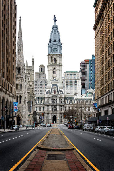 Photograph - Downtown Philly by Ryan Wyckoff