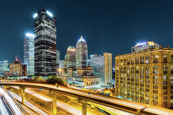 Photograph - Downtown Pittsburgh, Pennsylvania by Mihai Andritoiu