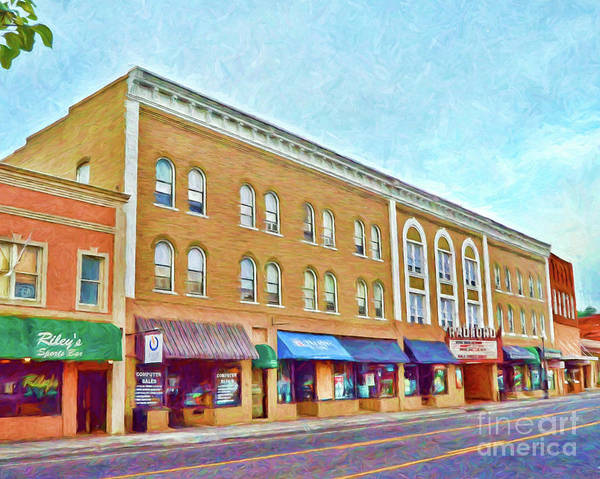 Radford Photograph - Downtown Radford Virginia by Kerri Farley