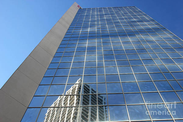 Photograph - Downtown Reflection by Wilko Van de Kamp