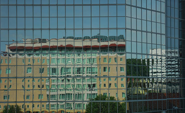 Photograph - Downtown Reflections by Paulette B Wright