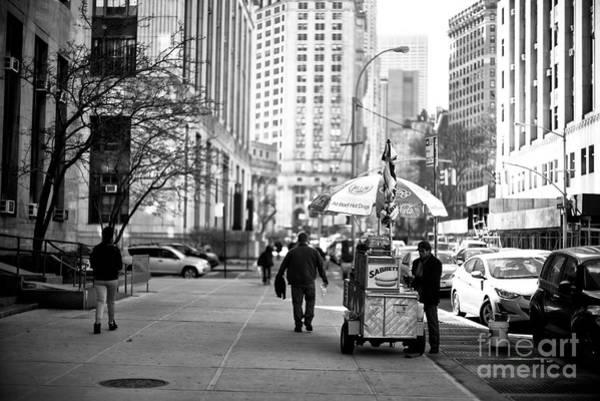 Photograph - Downtown Sabrett by John Rizzuto
