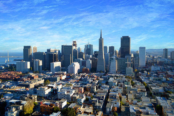 Photograph - Downtown San Fransisco by Glenn McCarthy Art and Photography