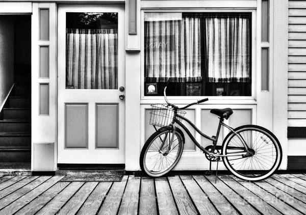 Photograph - Downtown Skagway 2 Bw by Mel Steinhauer