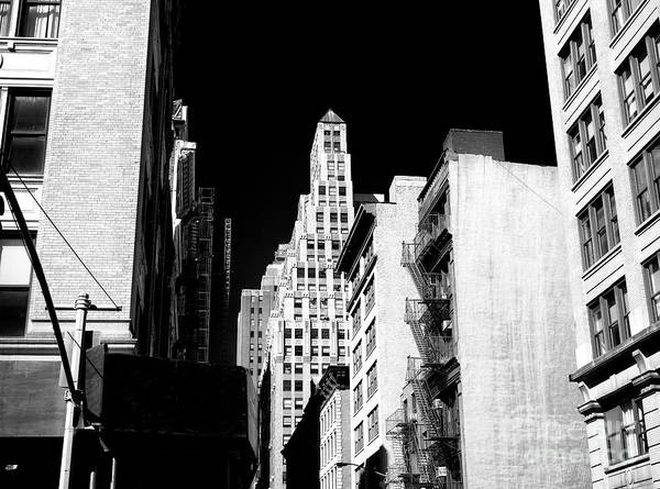 Photograph - Downtown Tight Spaces by John Rizzuto