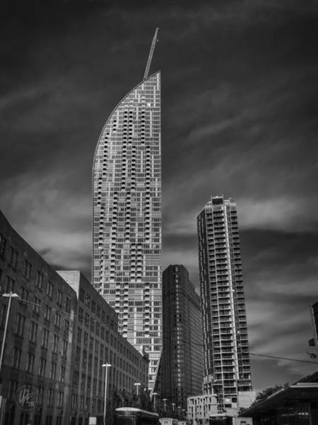 Photograph - Downtown Toronto 001 Bw by Lance Vaughn