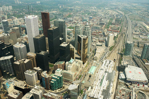 Wall Art - Photograph - Downtown Toronto Overview by Andriy Zolotoiy