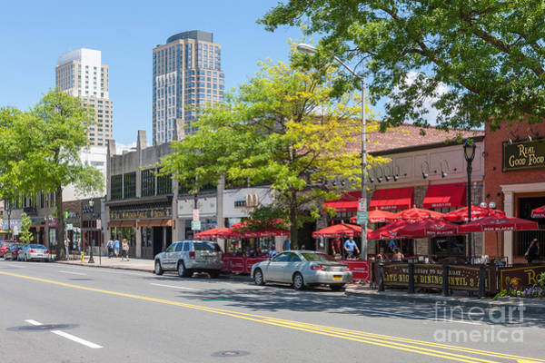 Photograph - Downtown White Plains New York Ix by Clarence Holmes