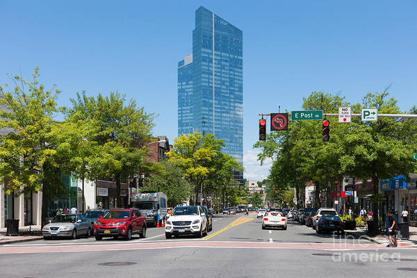 Photograph - Downtown White Plains New York V by Clarence Holmes