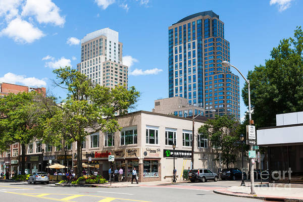 Photograph - Downtown White Plains New York Xi by Clarence Holmes