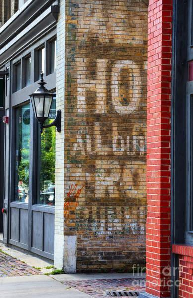 Mural Photograph - Downtown Wichita by Juli Scalzi