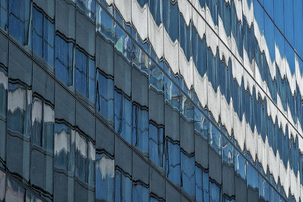 Photograph - Downtown Window Reflections #2 - Washington by Stuart Litoff