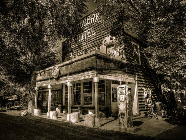Photograph - Doyle Grocery And Hotel by Scott McGuire