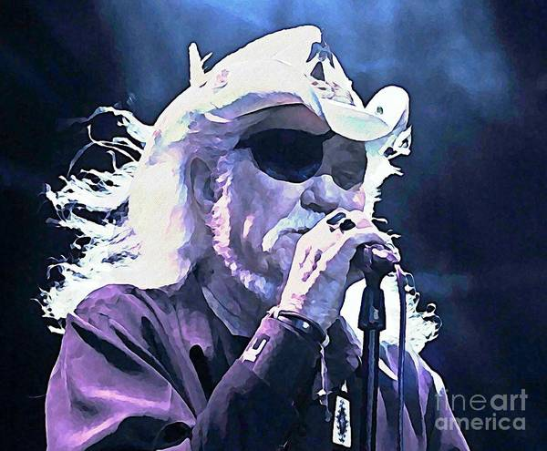 Wall Art - Painting - Dr Hook Watercolor by John Malone