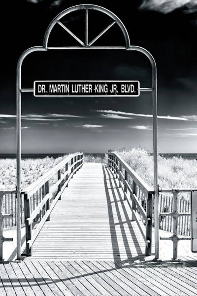 Wall Art - Photograph - Dr. Martin Luther King Jr. Boulevard Atlantic City by John Rizzuto