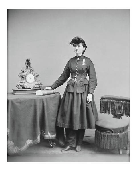 Photograph - Dr. Mary Walker by John Feiser