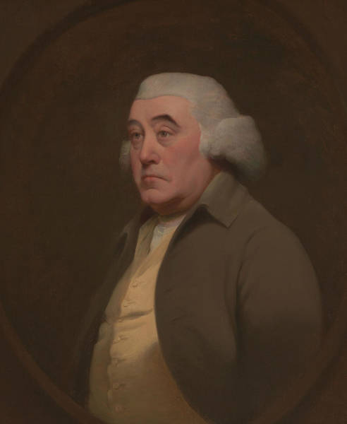 Painting - Dr. Richard Wright by Joseph Wright