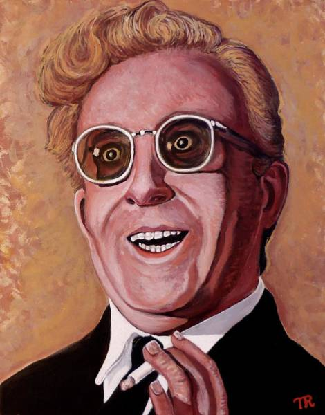Painting - Dr. Strangelove 3 by Tom Roderick