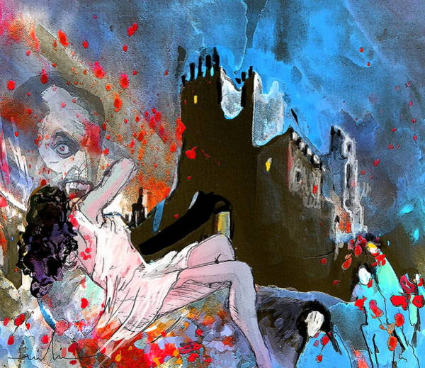 Painting - Dracula by Miki De Goodaboom