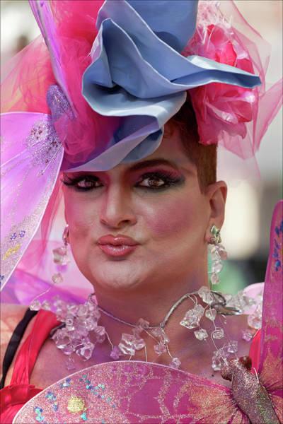 Drag Queen Gay  Pride Parade Nyc 6 27 10 Art Print